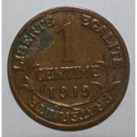 GADOURY 90 - 1 CENTIME 1919 TYPE DUPUIS - TTB - KM 840 - A. 1 Centime