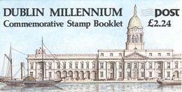 IRELAND, Booklet 30, 1988, Millennium Dublin - Boekjes