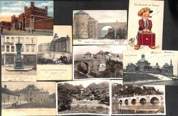 Namur - Lot Sélectionné 35 Cartes (animée, Précurseur, Mosa (3x), Legia, Caserne,...) - Namur
