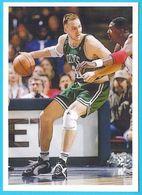 DINO RADJA - Boston Celtics NBA ( Croatia Spec. Issue Postcard ) Basketball Basket-ball Baloncesto Pallacanestro - Basketball - NBA