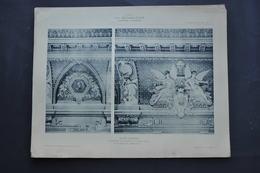 LA DECORATION ANCIENNE ET MODERNE DE PLAFONDS ET COUPOLES DU MUSEE D' AMIENS - Vieux Papiers