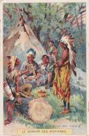 Chromo - Le Dernier Des Mohicans - Tribunal Des Indiens - N°5 - Autres
