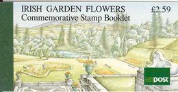 IRELAND, Booklet 36, 1990, Flowers, Mi MH 15 - Boekjes