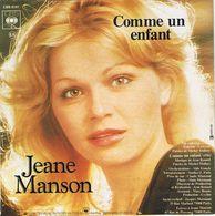 ** JEANE MANSON ** Face A - NO VOLVÈRE ** Face B - COMME UN ENFANT ** 1977 ** - Disco, Pop