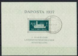 Danzig 1937 // Mi. Block 1 O - Dantzig