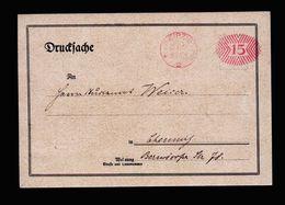 A5185) DR Infla Werbekarte Mit Postfreistempel Leipzig 29.11.21 - Deutschland
