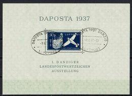 Danzig 1937 // Mi. Block 2 O - Dantzig