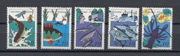 Finland Fishes Poissons Peces Fische Pesci 1991 Mi#1134-1138 MNH - Fishes