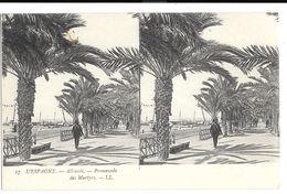 305 - ESPAGNE - ALICANTE - Promenade Des Martyrs - Alicante