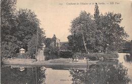 ¤¤  -   Confluent De L'Huisne Et De La Sarthe  -  Bateau , Plate   -   ¤¤ - France