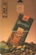 TARJETA TELEFONICA DE ESPAÑA USADA. 01.95 - TIRADA 5100 (429). CHOCOLATE ELGORRIAGA. - Spain