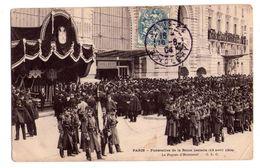 0611 - Paris - Funérailles De La Reine Isabelle - ( 13 Avril 1904 ) Le Piquet D'Honneur - G.L.C. - Funeral