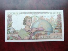 1 Billet De 10.000 Francs De 1952 Génie Français, Splandide - 1871-1952 Anciens Francs Circulés Au XXème
