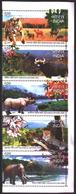 INDIA STAMPS, SETENANT STRIP @F 5, 03 MAY 2007, FAUNA, MNH - India