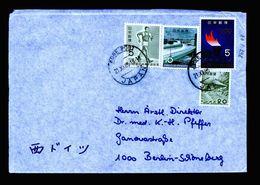 A5188) Japan Brief 21.10.65 N. Berlin / Germany - 1926-89 Kaiser Hirohito (Showa Era)