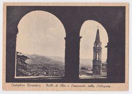Anni 50-CASTIGLION FIORENTINO-Arezzo-Valle Di Chio E Campanile Della Collegiata - Arezzo