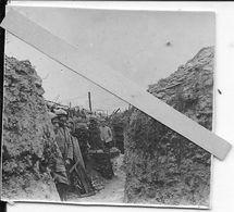 Aisne 1917 Soldats Français Dans La Tranchée Boyau X Gabions Outillage 1 Photo Ww1 1914-1918 - War, Military