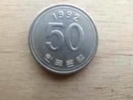 Koree  Du Sud  50  Won  1992  Km  34 - Corée Du Sud