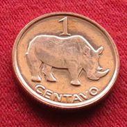 Mozambique Moçambique 1 Centavos 2006 Rhino Mozambico UNCºº - Mozambique