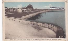 BERNIERES Sur MER - Dépt 14 - Vue Générale Sur La Plage Et La Nouvelle Digue  - CPA - 1935 - France
