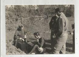 Photographie  , 18 X 13 , Militaria , Militaires, Transmission , Radio  , Frais Fr  1.55e - Guerre, Militaire