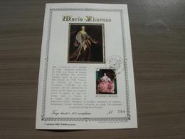 "BELG.1972 1656 FDC Fr.Carte D'or/soie N°398 ""Keizerin Maria-Teresia/""Impératrice Marie-Thérèse - 1971-80"