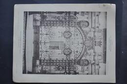 LA DECORATION ANCIENNE ET MODERNE DE BRONZES ET FERRONNERIES DE LA GRILLE D' ENTREE DU MUSEE D' AMIENS / DIET ARCHITECTE - Vieux Papiers