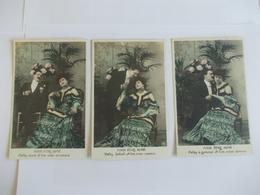 Lot De 3 Cartes D'une Même Série Pour être Aimé Edition à Déterminer Peut être Abeille - Postcards