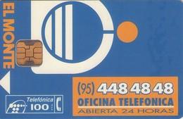 TARJETA TELEFONICA DE ESPAÑA USADA. 11.94 - TIRADA 53000 (432). EL MONTE. - Spain