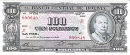 Bolivia - Pick 147 - 100 Bolivianos 1945 - AUnc - Bolivia