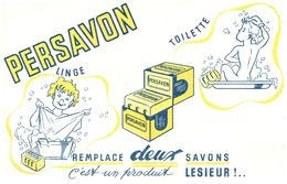 S P/ Buvard Savon Persavon  (N= 1) - Buvards, Protège-cahiers Illustrés