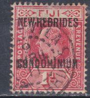 Nouvelles Hébrides N° 21 O : 1 P. Rouge, Oblitération Moyenne Sinon TB - Gebraucht
