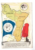 Région . ILLUSRATION . LORRAINE . ALSACE . ROUGET DE L'ISLE . PATRIOTIQUE - Réf. N°7179 - - Alsace
