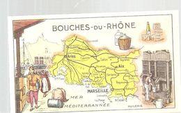Chromo Bon Point Sirop Jacquet Parfait Contre La TOUX Département Des Bouches Du Rhône - Autres