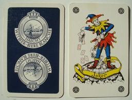 Joker Haecht Witbier Bière Blanche. - Cartes à Jouer Classiques