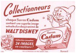 S Ca/Buvard Savon Cadum Format 16 X 11) (N= 2) - Buvards, Protège-cahiers Illustrés