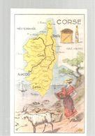 Chromo Bon Point Sirop Jacquet Parfait Contre La TOUX Département De La Corse - Autres