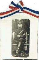 Foto/Photo. Militaria. Soldat Assis. Ruban Français. - Guerra, Militari