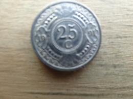 Antilles  Neerlandaises    25  Cents  1991  Km 35 - Netherland Antilles