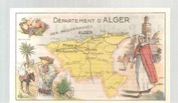 Chromo Bon Point De Huile SALVER Département Du GARD - Trade Cards