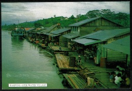 RB 1193 - Postcard - Kampong Ayer / Water Village - Brunei Malaysia - Brunei