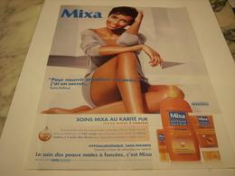 PUBLICITE AFFICHE CREME MIXA - Perfume & Beauty