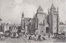 Bl - Cpa SAINT BRIEUC - La Cathédrale, Lithographie De Benoist - Saint-Brieuc