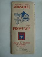 QUELQUES JOURS À MARSEILLE ET EN PROVENCE (Nº. 9, AOÛT 1952) - FRANCE, BOUCHES-DU-RHÔNE, 1949. 12 PAGES. - Toeristische Brochures