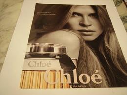 PUBLICITE AFFICHE PARFUM CHLOE - Perfume & Beauty