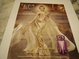 PUBLICITE AFFICHE PARFUM ALIEN DE THIERRY MUGLER - Perfume & Beauty