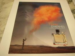 PUBLICITE AFFICHE PARFUM TERRE D HERMES - Perfume & Beauty