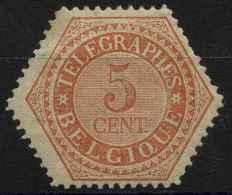 Belgique (1879) Telegraphe N 9 (charniere) - Telegraph