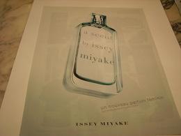PUBLICITE AFFICHE PARFUM A SCENT DE ISSEY MIYAKE - Perfume & Beauty
