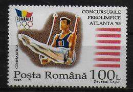 ROUMANIE     N° 4103B  * *  Jo  1996   Gymnastique Anneaux - Gymnastique